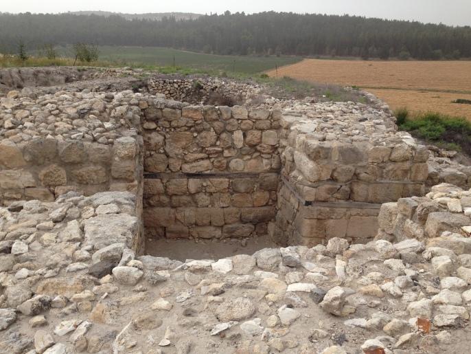 Megiddo Walls